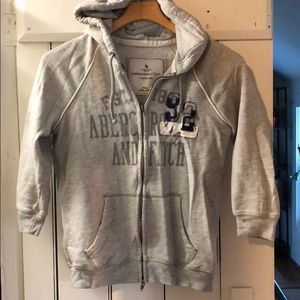 Abercrombie & Fitch 3/4 Sleeve Hoodie